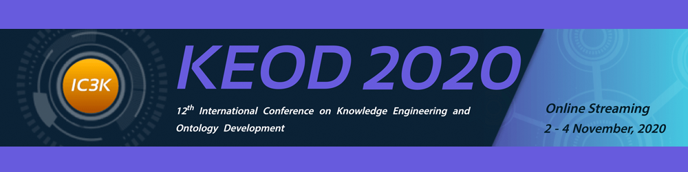 International Conference on Knowledge Engineering and Ontology Development (KEOD) (2009–2019)